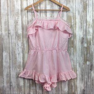 NWT Victoria's Secret Pink Romper